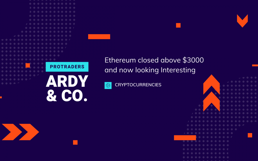 Ethereum closed above $3000 and now looking More Interesting